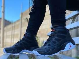 Zapato Tennis Bota Botin Jordan Para Hombre