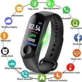 Reloj Banda M4 Tiempo Distancia Sensor Pulso Notificaciones