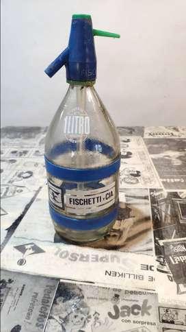 Sifón de vidrio de 1 litro