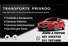 SERVICIO PRIVADO DE TRANSPORTE RECOMENDADO