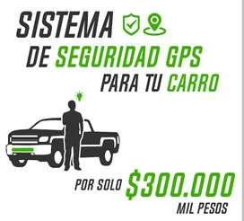 Sistema de seguridad GPS para moto o carro 1 año servicio