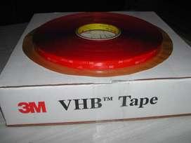4910 Cinta 3M VHB 19mm x 33m Transparente Doble Faz