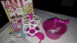 Barbie cup cakes party
