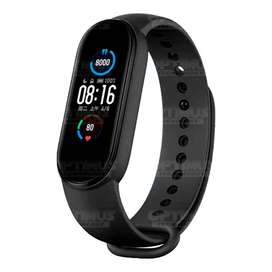 Reloj Smartwatch Inteligente Xiaomi Mi Smart Band 5  Mide Ritmo Cardíaco Resistencia al agua Larga Autonomía