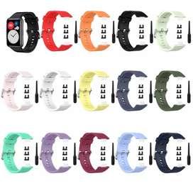 Pulsos para reloj inteligente huawei watch fit