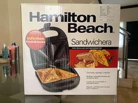 Sanduchera  Hamilton Beach