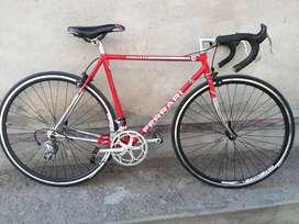 Bicicleta de ruta clásica