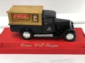 Citroen 64 F Fourgon Coca-Cola Marca Solido. Hecho en Francia