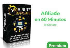 Afiliado en 60 min Curso - vender en hotmart