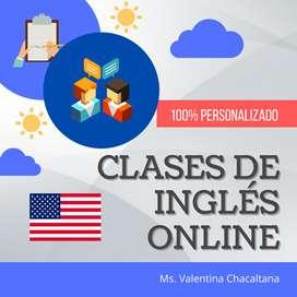 Clases de Inglés / Profesora de inglés