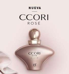 perfume ccori rose de unique para dama