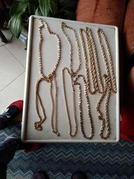 Vendo cadenas de fantasía vendo o permuto