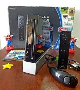 Nintendo Wii Black como Nuevo