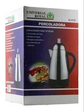 Cafetera Hervidora Electrica Automatica Universa Royal