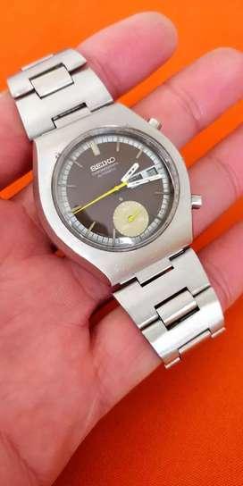 Reloj Seiko Cronografo Automático vintage de colección, 6139-8020,