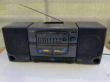 Radiograbador casete salida de audio