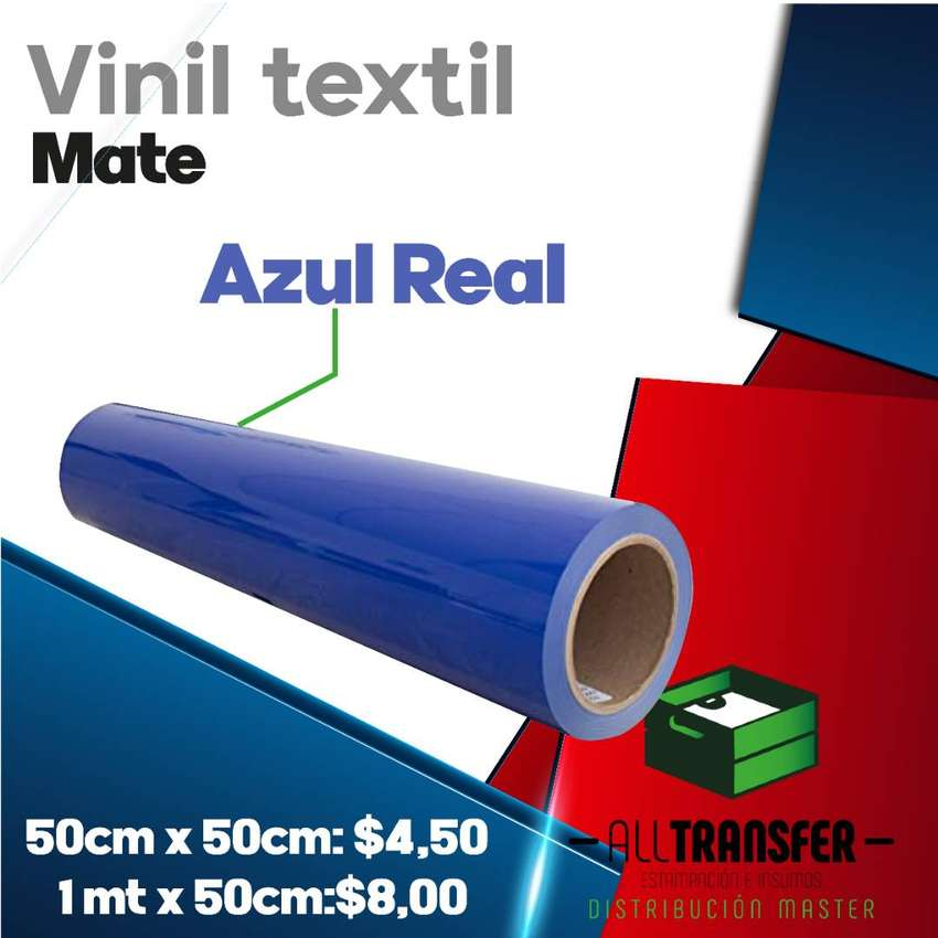 Vinil textil tu escoge que colores quieres, All transfer