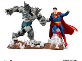 BATMAN EARTH I & SUPERMAN - DC MULTIVERSE - McFARLANE TOYS
