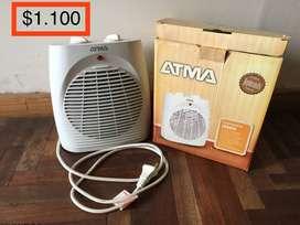 Caloventor Atma CE 2203 . potencia 2000w . Usado