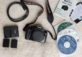 Canon Eos Rebel T3 + kit 18-55mm