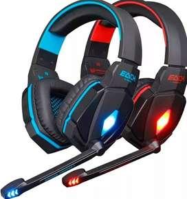 Audifono Diadema Gamer Kotion Each G4000 Usb M  A&C TEGNOLOGY BOGOTA D.Cicrofono Led