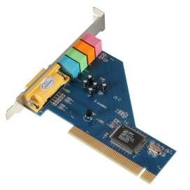 TARJETA PCI SONIDO 5.1 3D MULTIMEDIA PROMOCION