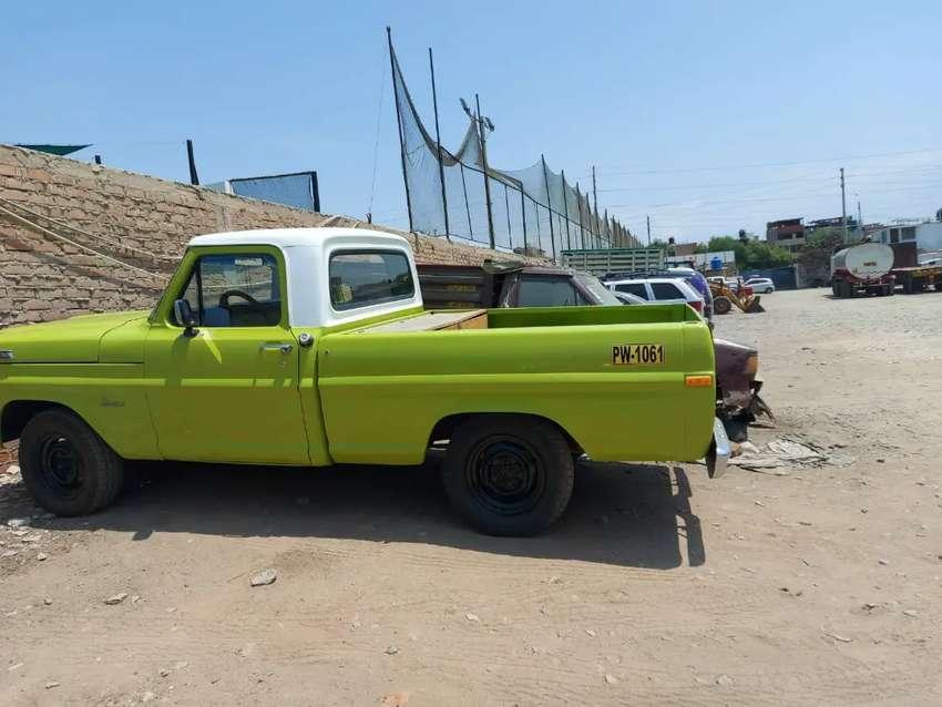 Vendo camioneta ford 100