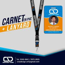Carnet con lanyer