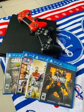 Vendo PS4 1000 Gigas