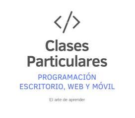 Clases de programación