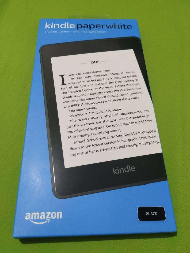 Kindle Paperwhite 8 Gb, resistente al agua, Bluetooth 10 generación 0