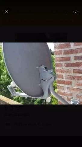 Antena parabolica satelital