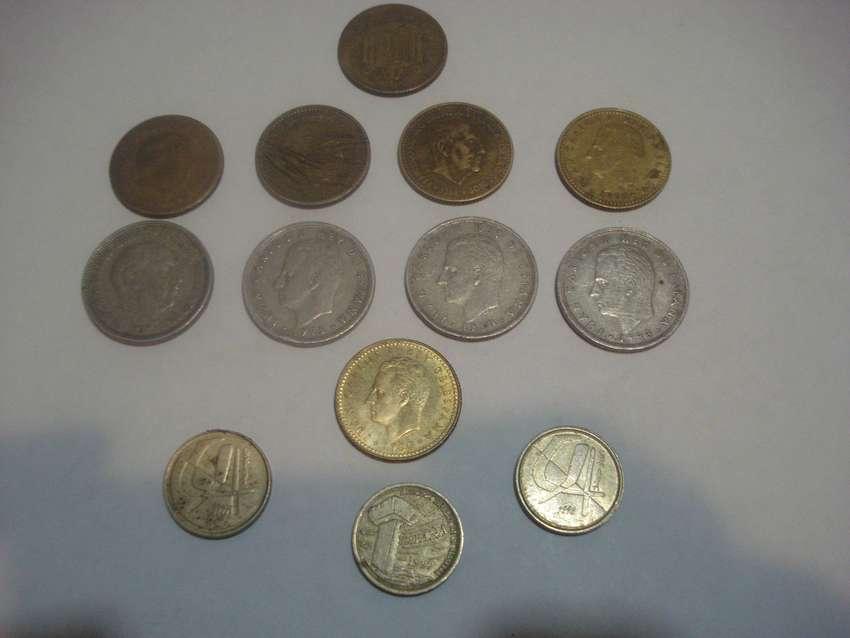 coleccion monedas de españa x 13u. 0