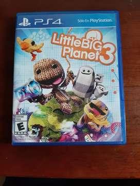 Little Big Planet 3 para PS4