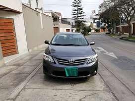 Toyota corolla 2013, excelente estado, gris oscuro