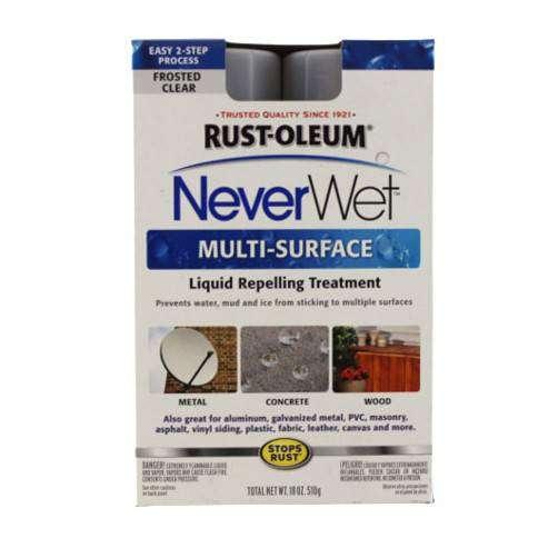 Capa Hidrofóbica Multiuso Spray Never Wet Transparente 0