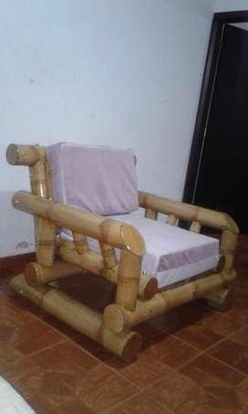 Mueble en Guadua