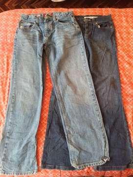 Vendo jeans originales clásicos mujer