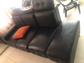 Muebles usados extra grandes en L para sala