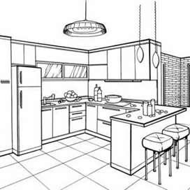 Diseñamos y fabricamos proyectos en cocinas integrales y modulares