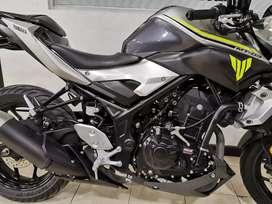 Yamaha MT 03 como nueva sin uso no tiene seguro