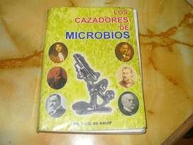 """Libro: """"Cazadores de microbios"""", Dr. Paul de Kruif"""