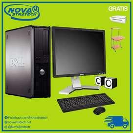 Computadora Completa con Mesa E Impresora Gratis Envios a todo el pais Barata con Garantia Dell/Hp/Lenovo