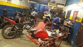 Venta de talleres de motos