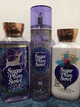 Bath and body works Sugar plum swirl