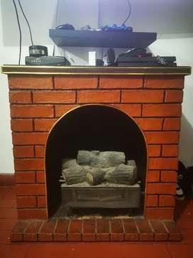 Calefacción estilo Chimenea