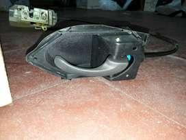 Cerradura C/ Manija Y Cable Completa Ford Ka 97/07 Der. Orig