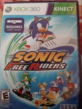 Video Juego Sonic Free Riders Xbox 360 Kinect