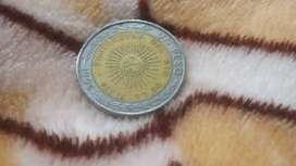 Vendo moneda de 1 peso
