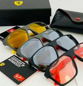 Gafas de sol Rayban Ferrari Cuadradas